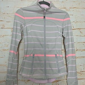 Lululemon, Define jacket, stripped, size 2